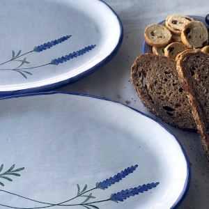 Fuente de mesa Lavender - Detalle