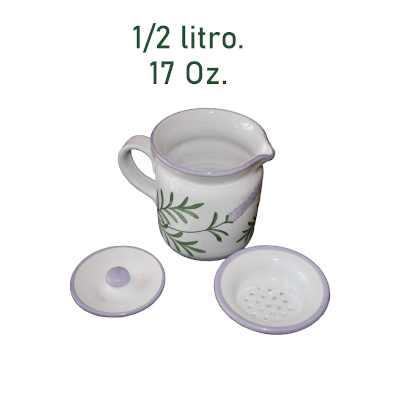 """Grasera cerámica de la serie """"Lavender"""""""