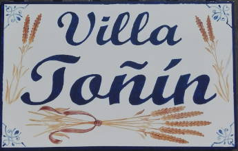 Azulejo Villa Toñin