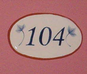 Número de habitación