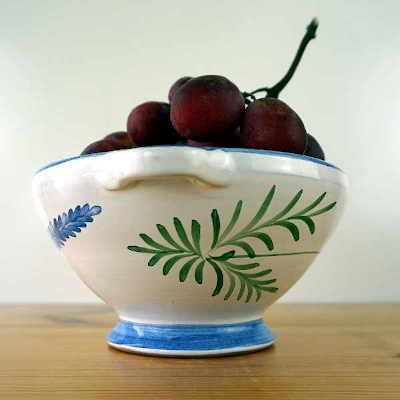 Escurridor cerámico para fruta