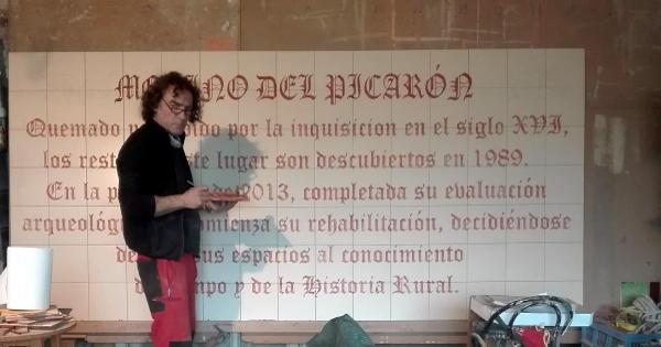 Mural para el Molino del Picarón
