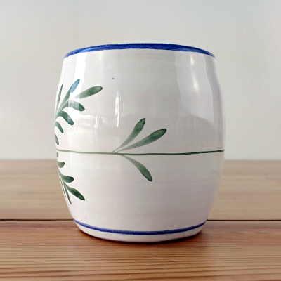 Vaso de barro Lavender