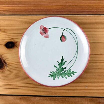 Plato 15cm colección ababol